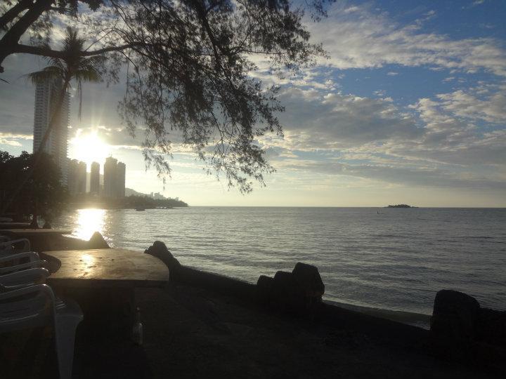 Mooi uitzicht in Penang