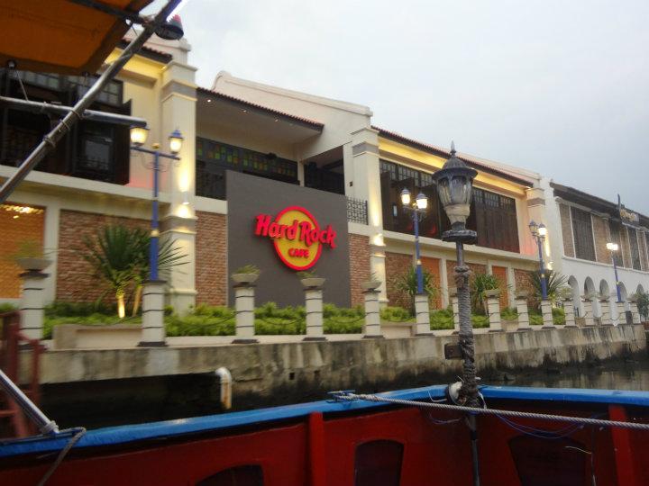 Hard rock cafe @ the boot trip Melaka