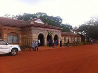 2 mzungus at Sct. Francis Hospital, Zambia