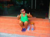 Sarah i Thailand