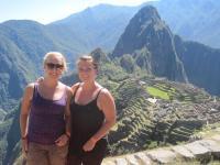 Sarah og Mia i Sydamerika paa tur - det dur'!