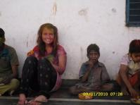 Sara i Indien!