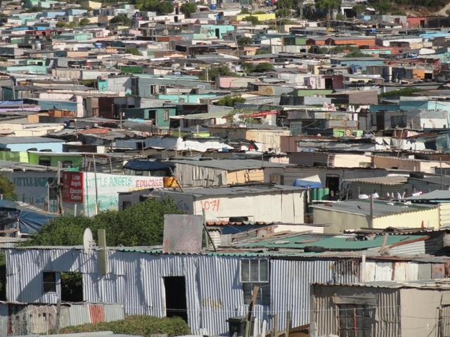 Khayelitsha township shanty town