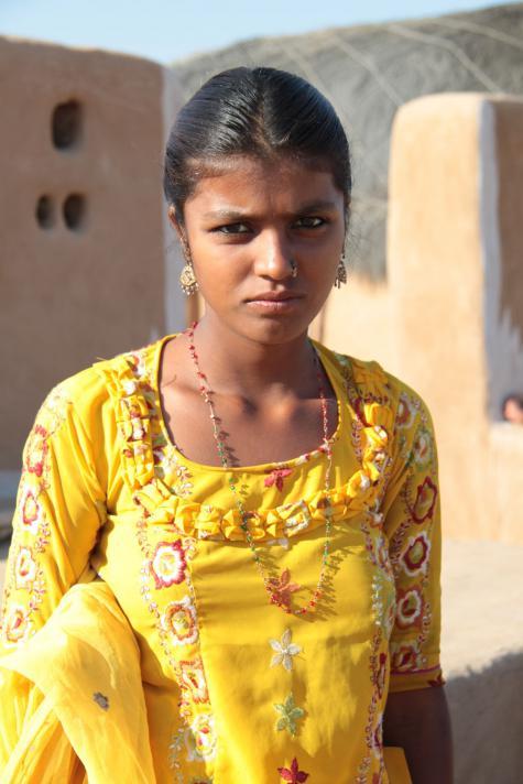Village woman of Sri Lanka
