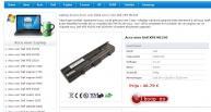 laptop akkus pc portable batterie