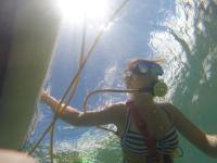 Snorkeling with Ken