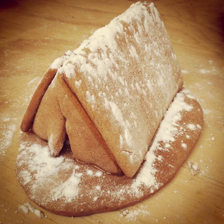 Gingerbread tent