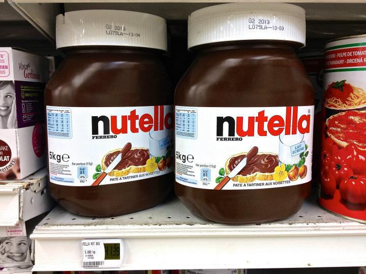 Nutella 5 kg | GR 20 - Korsika - June 2012