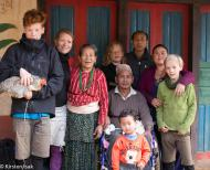 The Isak Family in Nepal 2014