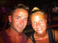 Thomas og Emilie i Asien