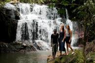 Tina og Nicola i Tanzania