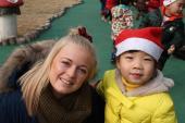 Trine Lindstrøm i Kina
