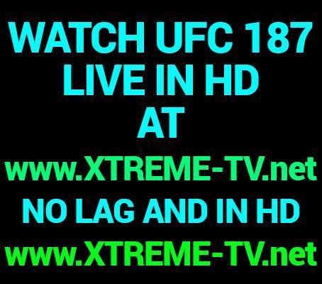 UFC 187 Live Stream inhd online