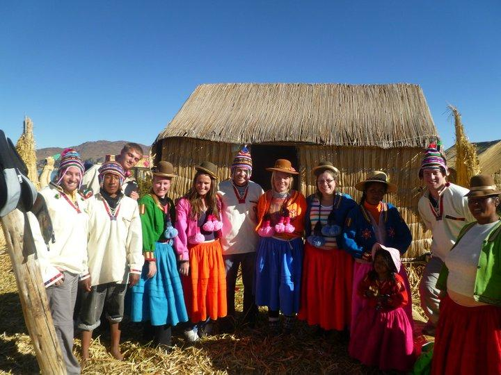 Dressed Up In Traditional Bolivian Clothes My Adventures
