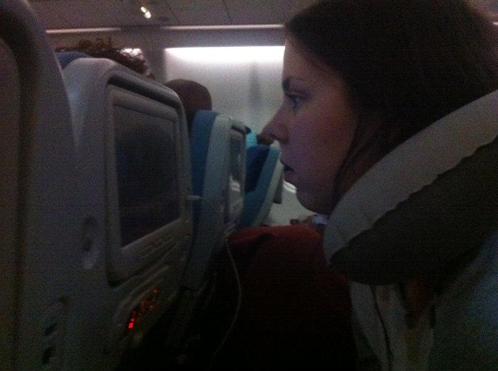 God underholdning på flyet!