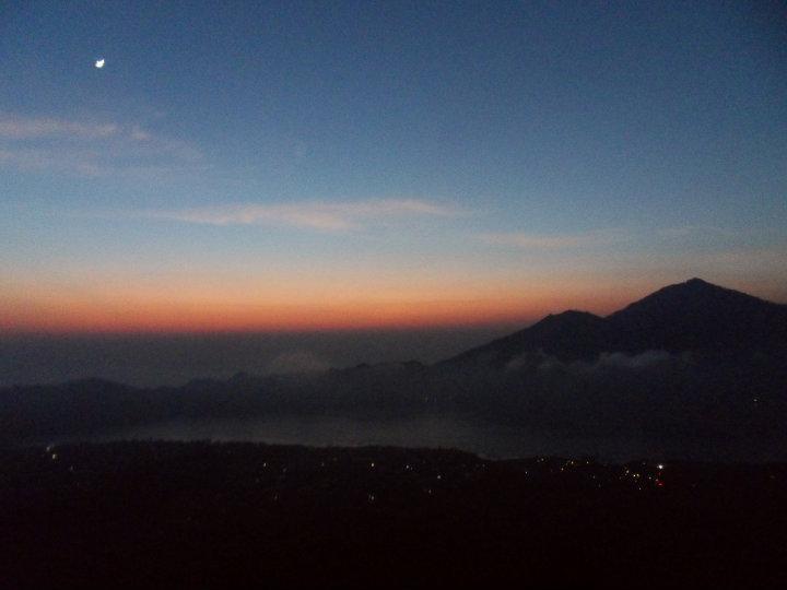 Soloppgang fra Mt. Batur