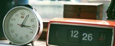 relógio de ponto cartográfico
