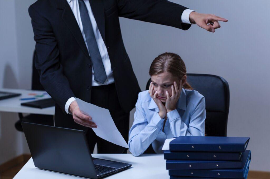 assédio no trabalho