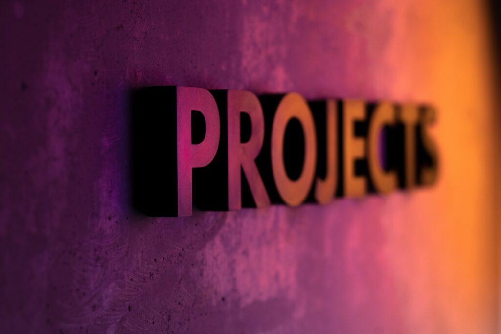 sprint de projetos