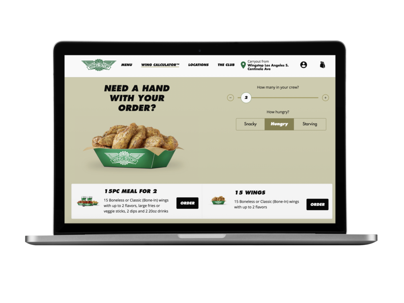 Wingstop ios 2