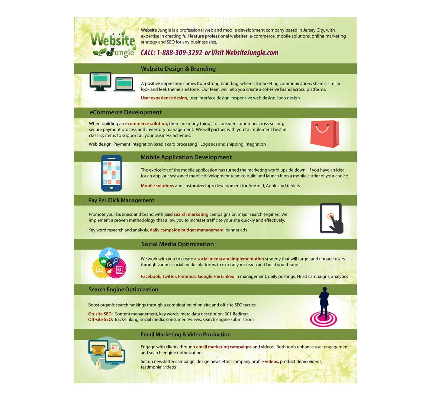 Web Site jungle-Flyer