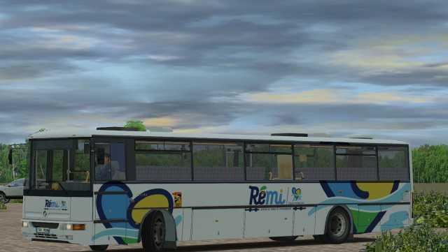 Rémi Centre-Val-de-Loire pour l'Irisbus Karosa C954E