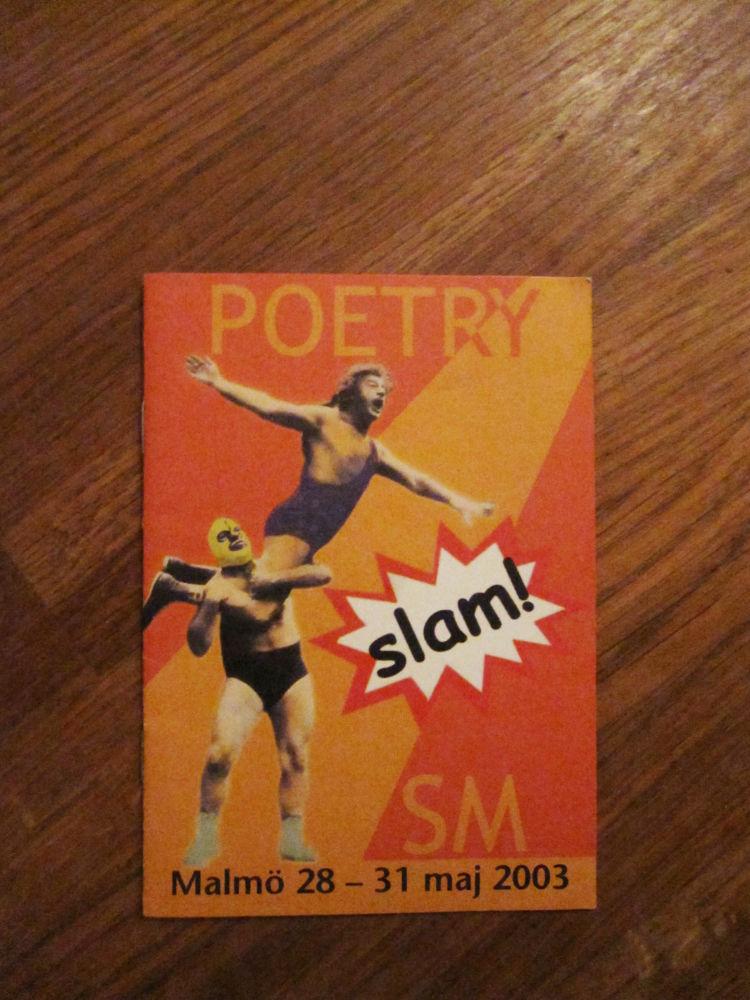 Efrik på Poesi SM i Malmö