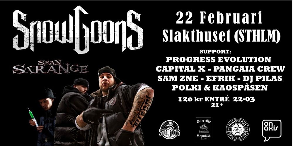 Snowgoons with ONAXIS support