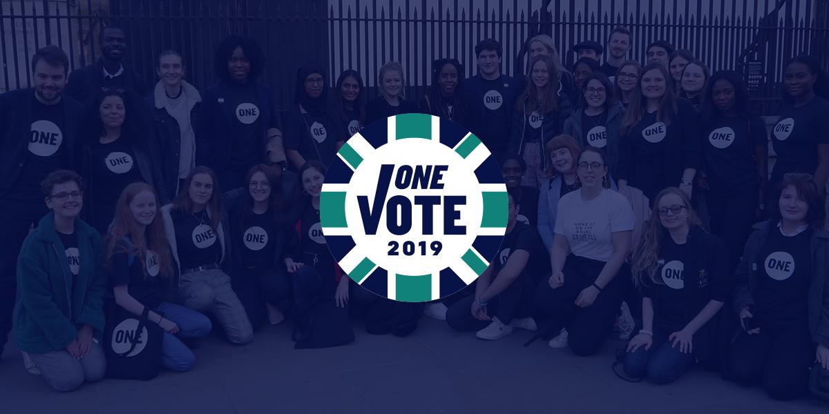 The Pledge - ONE Vote UK 2019