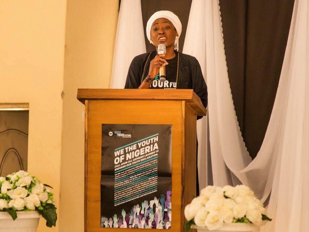 ONE's Nigeria Director, Serah Makka-Ugbabe in Gombe State.
