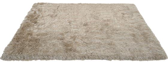 Tepih Shaggy Silk 140 x 200 cm bež