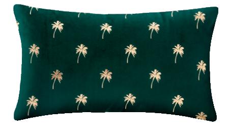 Jastuk Velvet Foil 30 x 50 cm zeleni