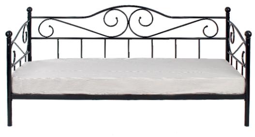 Krevet Dahlia 86 x 205 x 98,8 cm crni