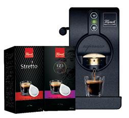 Tube Easy Serve Espresso aparat za espresso FRANCK ESE HOME UZ KUPNJU APARATA DOBIVATE 2 KUTIJE KAVE GRATIS
