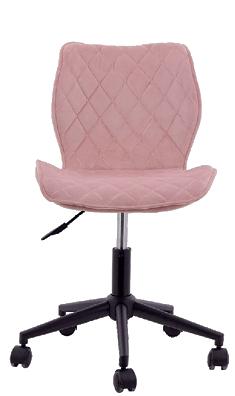 Kancelarijska stolica Blush 47 x 59 x 77 – 87 cm roze