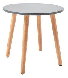 Stolić Lars II okrugli 40 x 37 cm sivi