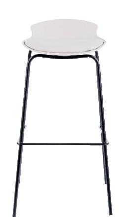 Barska stolica Sohan 39,5 x 38,5 x 86,5 cm krem