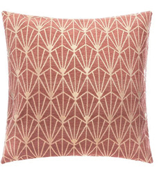 Jastučnica Art Deco 40 x 40 cm roza