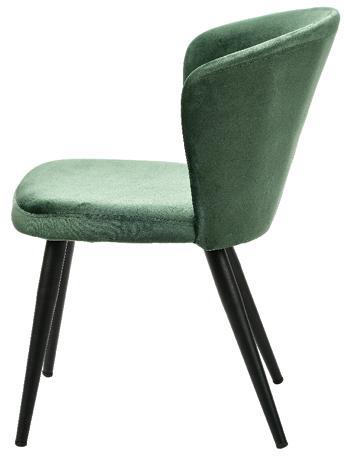 Stolica Misty 56 x 62 x 77,8 cm tamno zelena