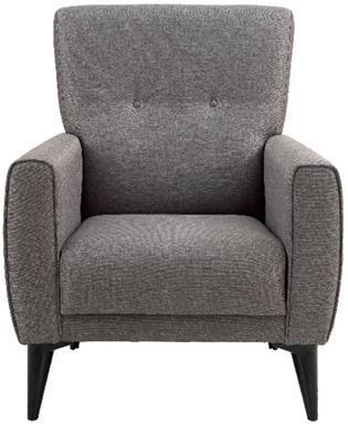 Fotelja Nesta 86 x 86 x 91 cm siva