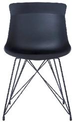 Stolica Troy 47 x 54,5 x 78,5 cm crna