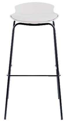 Barska stolica Sohan 39,5 x 38,5 x 86,5 cm bež