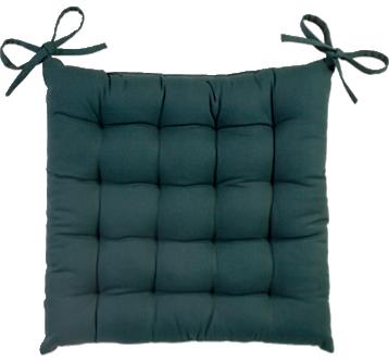 Jastuk za stolicu Brooklyn 40 x 40 cm zeleni