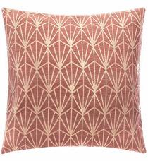 Jastučnica Art Deco 40 x 40 cm roze