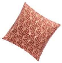 Jastučnica Art Deco roze 40 x 40 cm