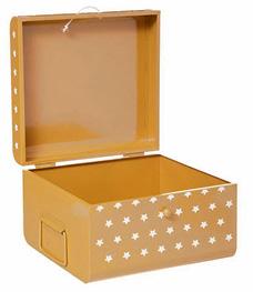 Kutija Stars 26 x 24 x 16 cm žuta