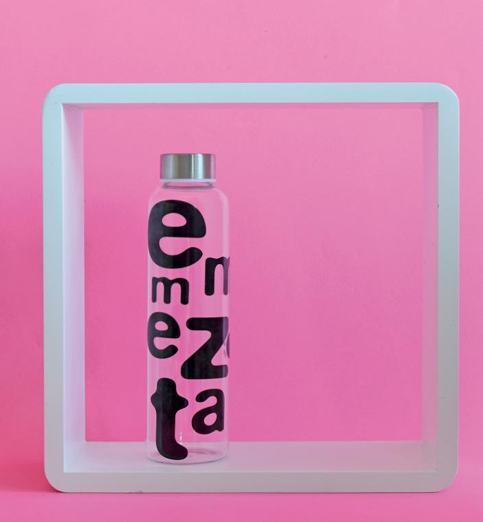 Flaša za vodu 600 ml Emmezeta