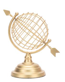 Dekoracija Globus zlatni