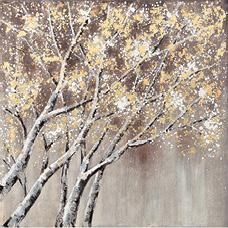 Slika s okvirom Shiny Tree 102,5 x 102,5 cm