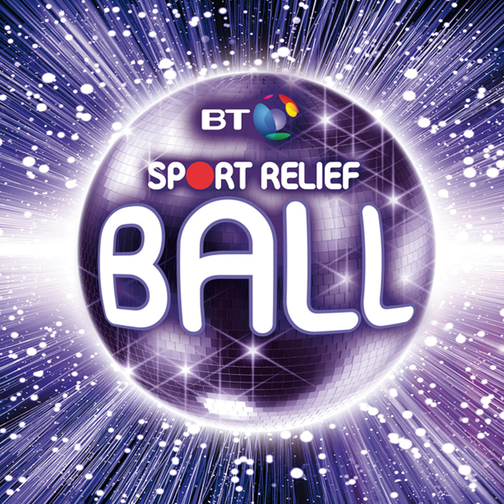 The BT Sport Relief Ball Branding